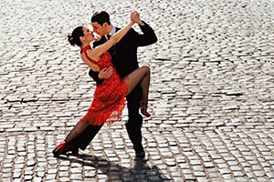 danses de salon, mini-stage tango